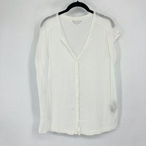 Hartford Classic White 100% Cotton Shirt